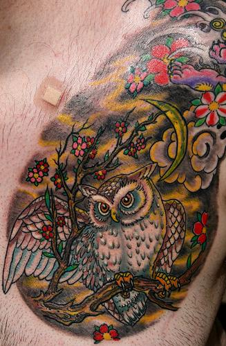 Color tattoos symbolic meanings